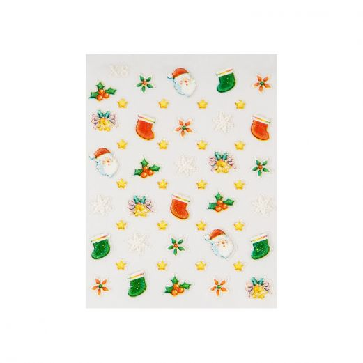Christmas stickers calze di natale