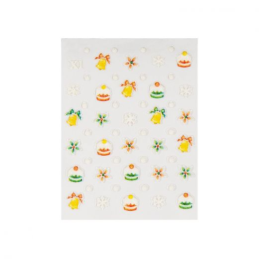 Christmas stickers dolci di natale